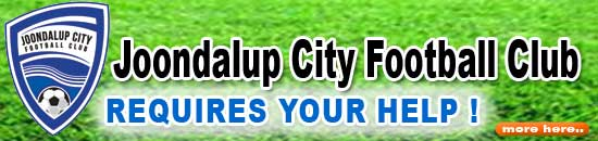 Joondalup City Football Club – Requires your help.